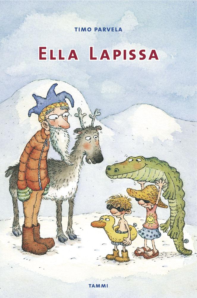 Ella Lapissa - Timo Parvela - e-kirja | Elisa Kirja