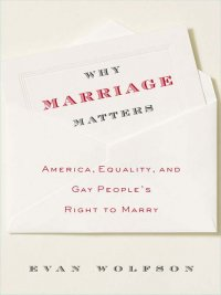 Evan Wolfson - Why Marriage Matters, e-kirja