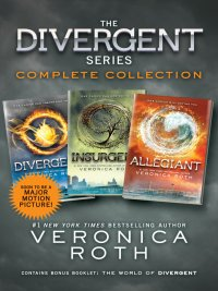 Veronica Roth - The Divergent Series Complete Collection, e-kirja