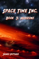 James Pittaro - Space Time Inc. - Horizons, e-kirja