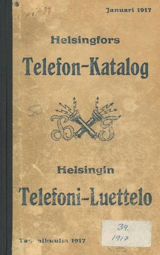 Helsingin Puhelinluettelo